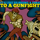 'It's Like Bringing A Fork To A Gunfight' Song Compilation Released