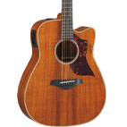 All Solid Koa Versions Of Yamaha's Award-Winning A-Series Guitars Represent An Incredible Value