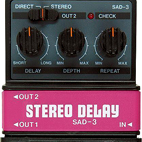 SAD-3 Stereo Delay