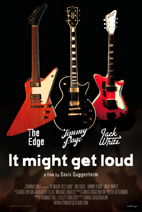 Jack White, Jimmy Page, The Edge: It Might Get Loud [DVD]