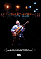 Tommy Emmanuel: Center Stage [DVD]