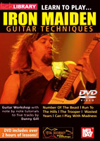 Iron Maiden: Lick Library: Learn To Play Iron Maiden [DVD]