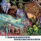Tyrannosaurus Rex: My People Were Fair And Had Sky In Their Hair... But Now They're Content To Wear Stars On Their Brows