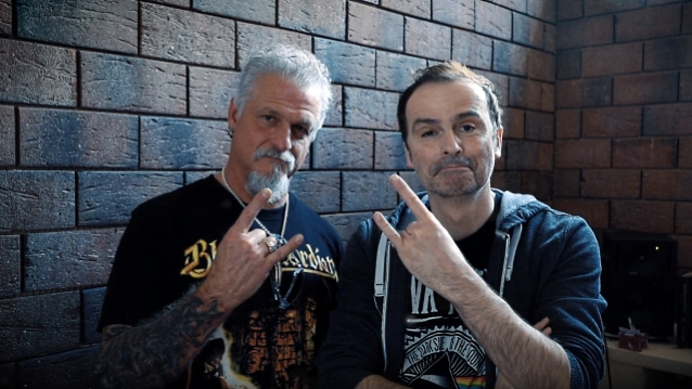 Jon Schaffer of Iced Earth and Hansi Kürsch of Blind Guardian: What