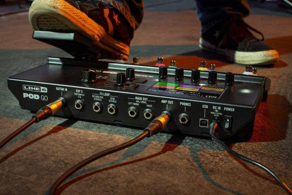 Line 6 Introduce New Guitar Processor POD Go, These Are Some Specs ...
