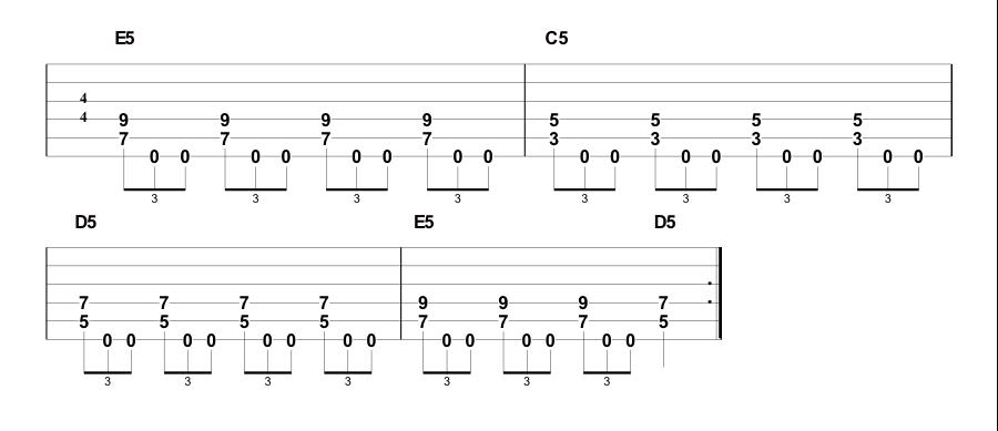 Cool Sounding Metal Guitar Rhythm Variations   Guitar