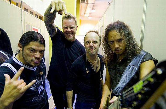 Rock bands pre show rituals articles ultimate guitar the band gets to the venue about two hours early to eat do meet and greets with fans and see friends m4hsunfo