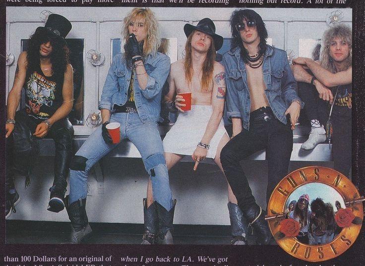 Guns N Roses Levis Denim Jean Jacket Axel Rose Slash Trucker