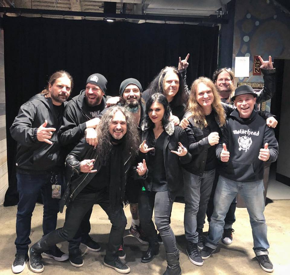 Watch Metal Allegiance Joined by Members of Testament
