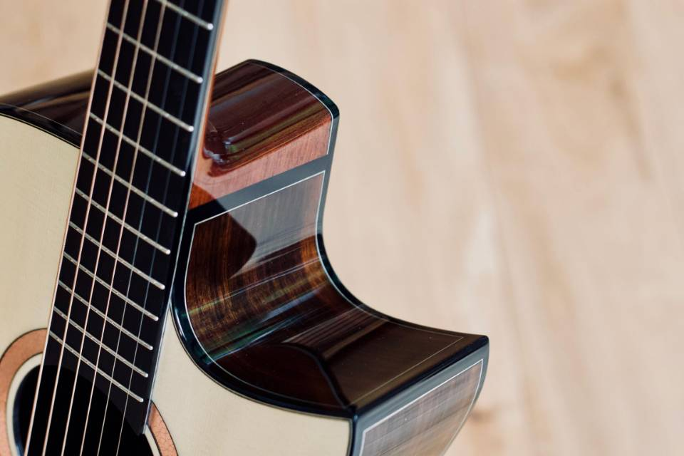 Commissioning A Bespoke Steel String Acoustic Guitar
