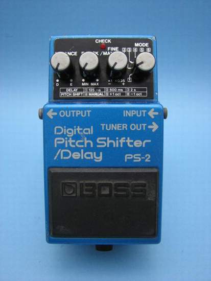 ps 2 pitch shifter delay review sometimes the boss ps 2 is a good match sometimes boss. Black Bedroom Furniture Sets. Home Design Ideas
