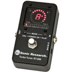 Sonic Research: ST-200 Turbo Tuner