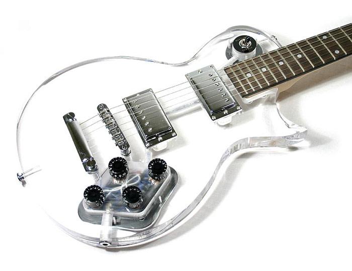 "Stratocaster  Pickguard SSS   /""acryl/"" durchsichtig"