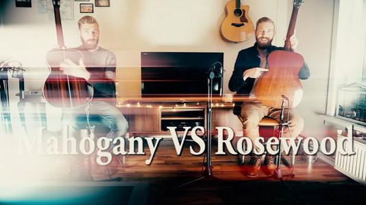 Mahogany vs Rosewood