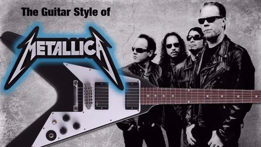 Metallica's Guitar Harmonies