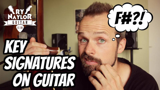 Why Is That F 'Sharp'?  Understanding Key Signatures on Guitar