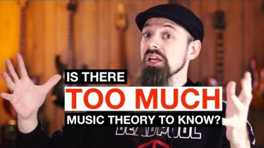 Is There Too Much Music Theory To Know? What To Do If You Feel Discouraged [Lessons]