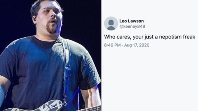 Eddie Van Halen's Son Responds to Fan Calling Him 'Nepotism Freak,' Addresses People Who Call Him Fat