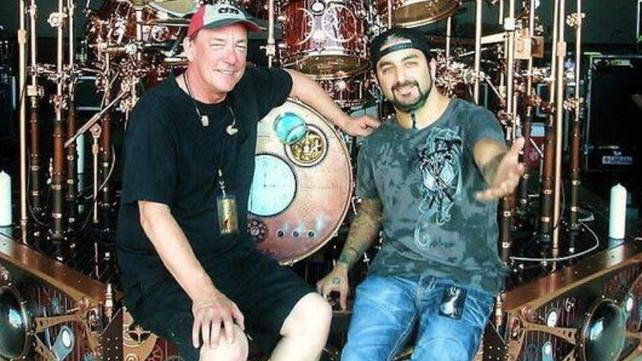 Neil Peart & Mike Portnoy