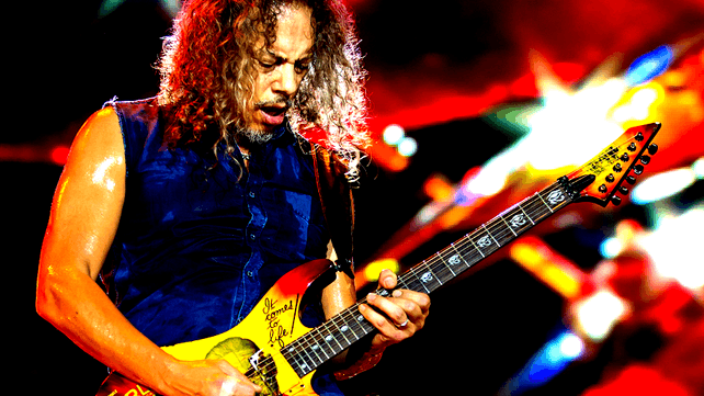 Kirk Hammett How I Learned To Play Guitar Music News At Ultimate