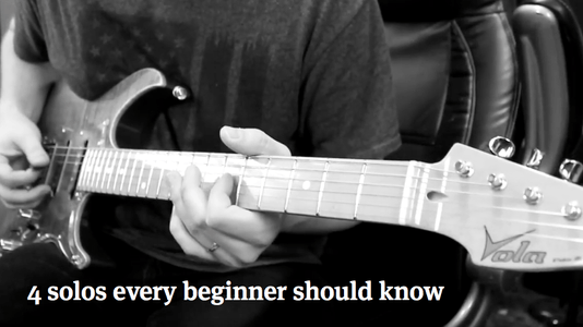 Top 5 Simple Guitar Solos For Beginners - YouTube
