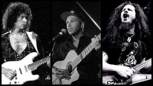 Dimebag Darrell, Ritchie Blackmore and Now Tom Morello Are Now in the UG Wiki Artists