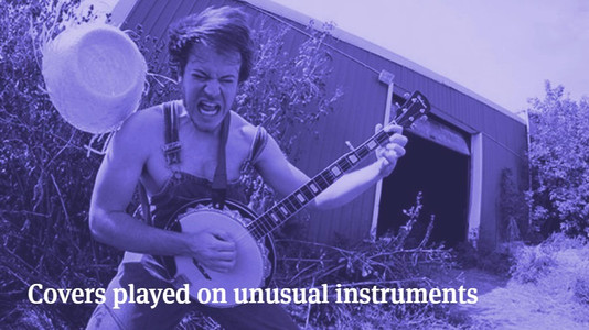 Cool Covers Played on Unusual Instruments