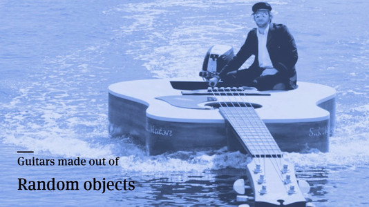 Guitars Made From Random Objects