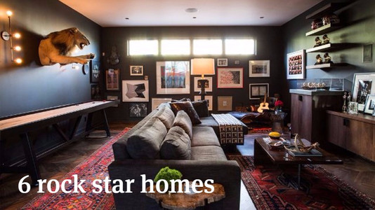 6 Rock Star Homes