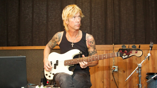 GN'R's Duff McKagan: I Started Taking Bass Lessons Again, Learning Theory, Playing With Fingers