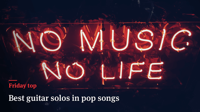 Friday Top: 20 Best Guitar Solos in Pop Songs | Articles @ Ultimate