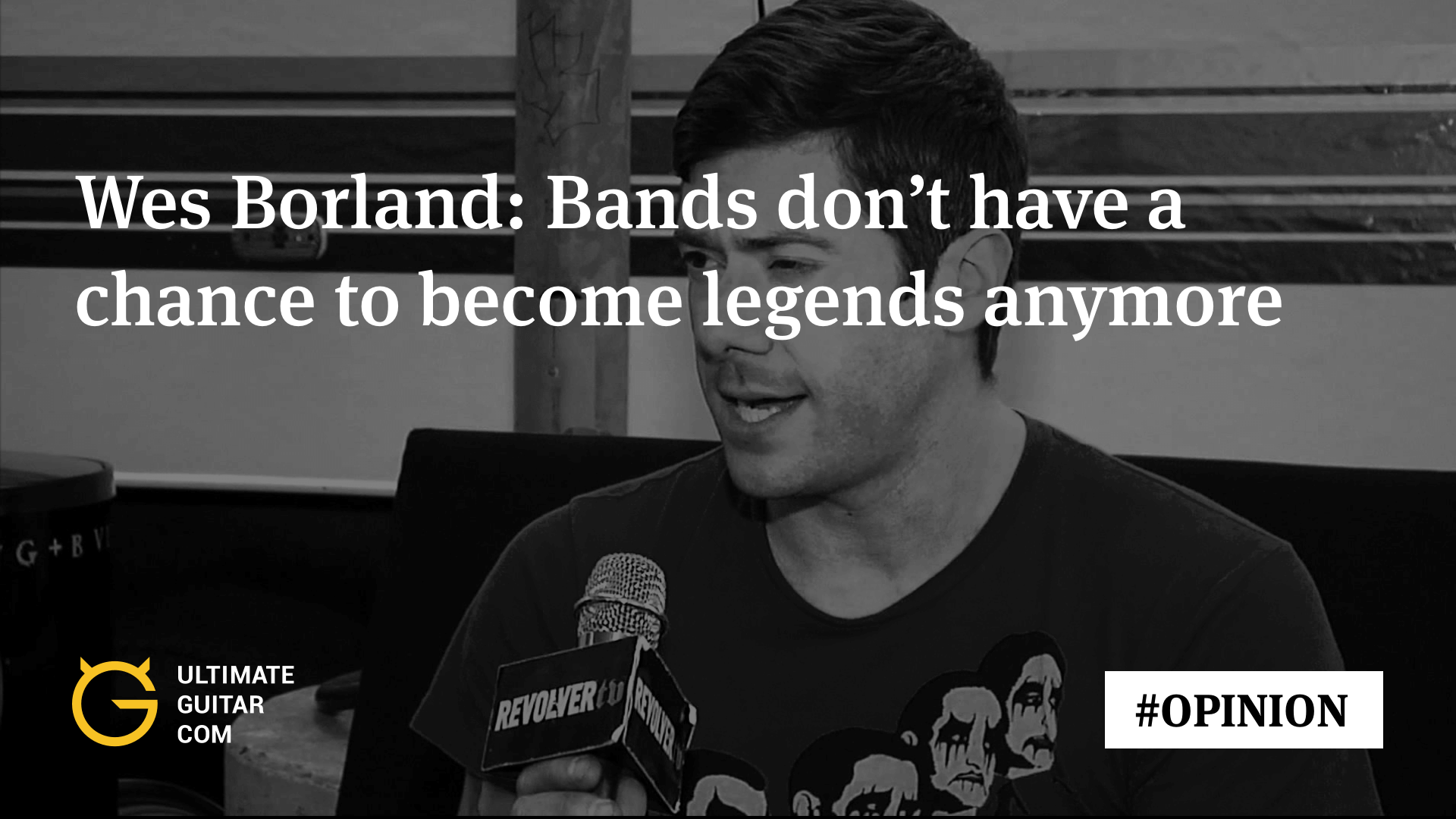 Wes Borland: Professional Musician Is Becoming a Trade of