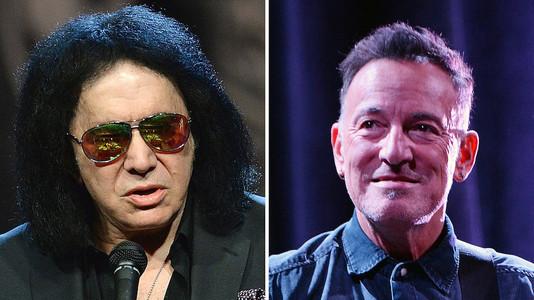 Gene Simmons: Por qué nunca demandé a Bruce Springsteen por plagio aunque lo merecía