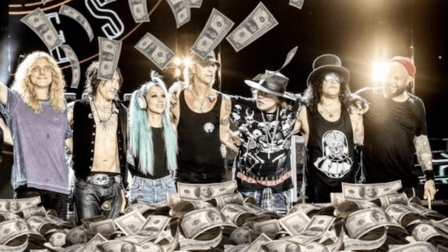Image result for guns n roses money