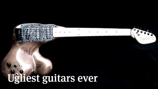10 Ugliest Guitars Ever