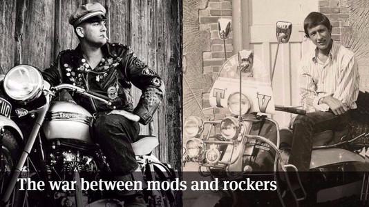 The War Between Mods and Rockers