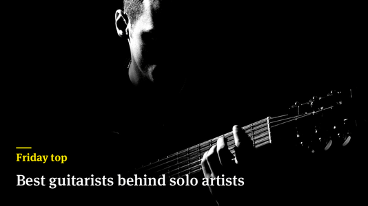 Friday Top: 24 Best Guitarists Behind Solo Artists
