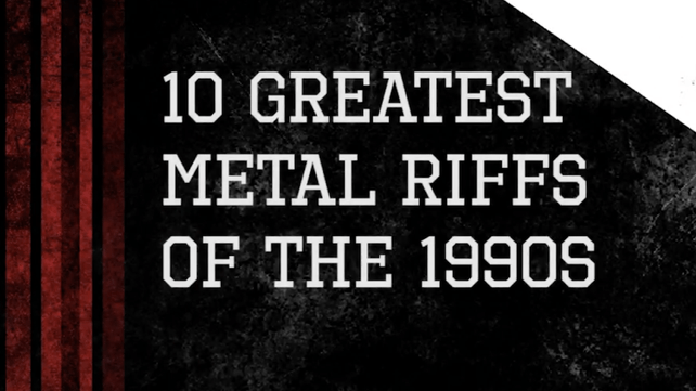 Top 10 Greatest Metal Riffs Of The 90s Music News Ultimate Guitar Com