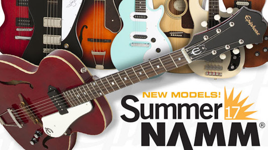 New Guitars: These Are the Guitars Epiphone Presented at This Year's Summer NAMM