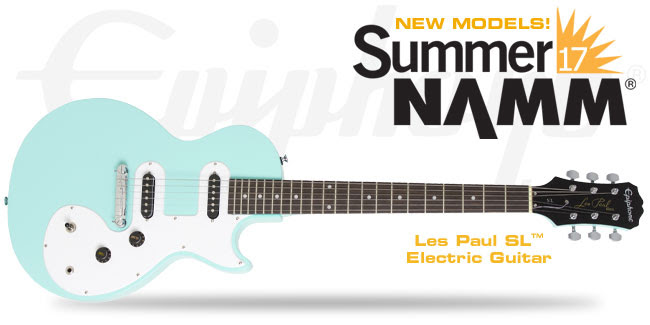 New Guitars: These Are the Guitars Epiphone Presented at