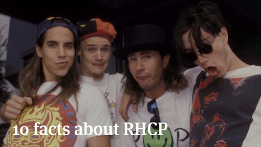 10 Facts About Red Hot Chili Peppers