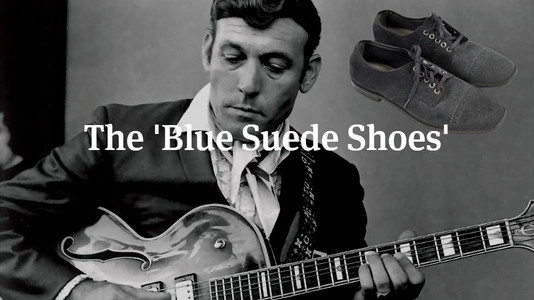 The Story of the 'Blue Suede Shoes'