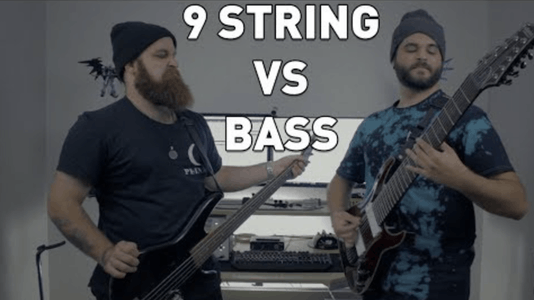 Why Not Just Bass: Guitarist Replaces 9-String Guitar With a Bass, Here's How It Turned Out