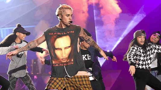 Justin Bieber Thinks He's the Reason Marilyn Manson Is Still Relevant