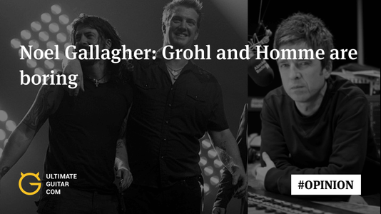 Oasis' Noel Gallagher: Dave Grohl and Josh Homme Are Making Boring Music