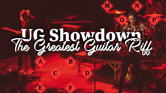 UG Showdown - The Greatest Riff: Groups I-L Results