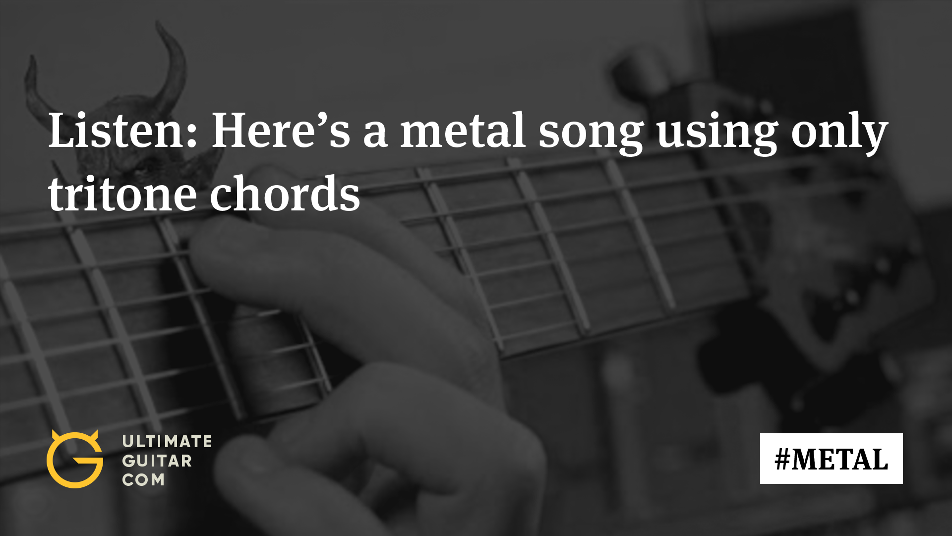 Devil Music Heres A Metal Song Using Only Tritone Chords Music
