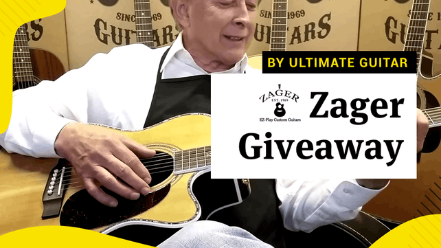Ug Giveaway Your Chance To Win 1695 Worth Of Guitar Gear From
