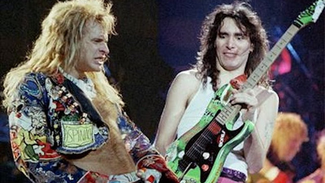 Steve Vai Remembers Debauchery While Being In David Lee Roth S Band I Was In A Relationship I Wasn T Promiscuous Music News Ultimate Guitar Com