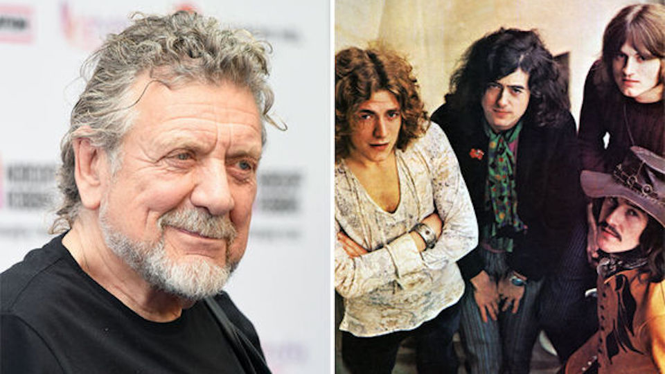 new report claims led zeppelin are preparing reunion for 50th anniversary robert plant reacts. Black Bedroom Furniture Sets. Home Design Ideas